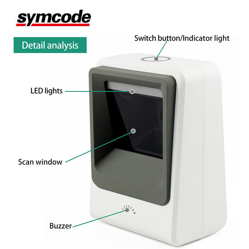 High Speed Symcode Barcode Scanner / Omni Directional Scanner Decoding Quickly