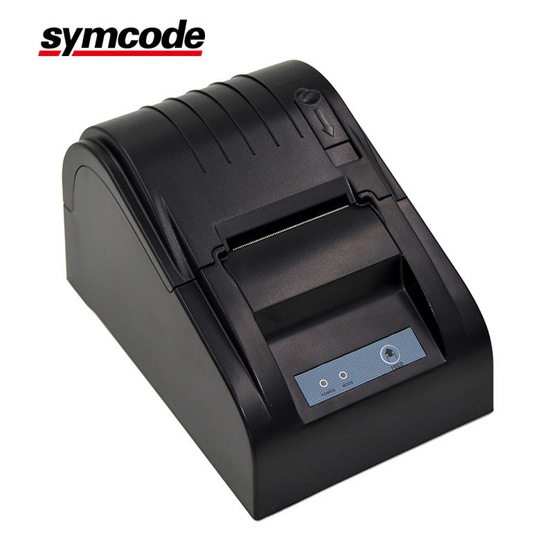 Low Noise 58mm Thermal Receipt Printer High Speed Printing Support Cash Drawer Driver
