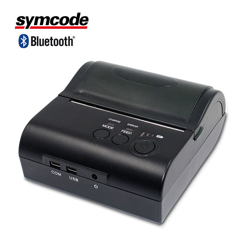 Android IOS 80 Mm Portable Bluetooth Printer Removable Lithium Battery